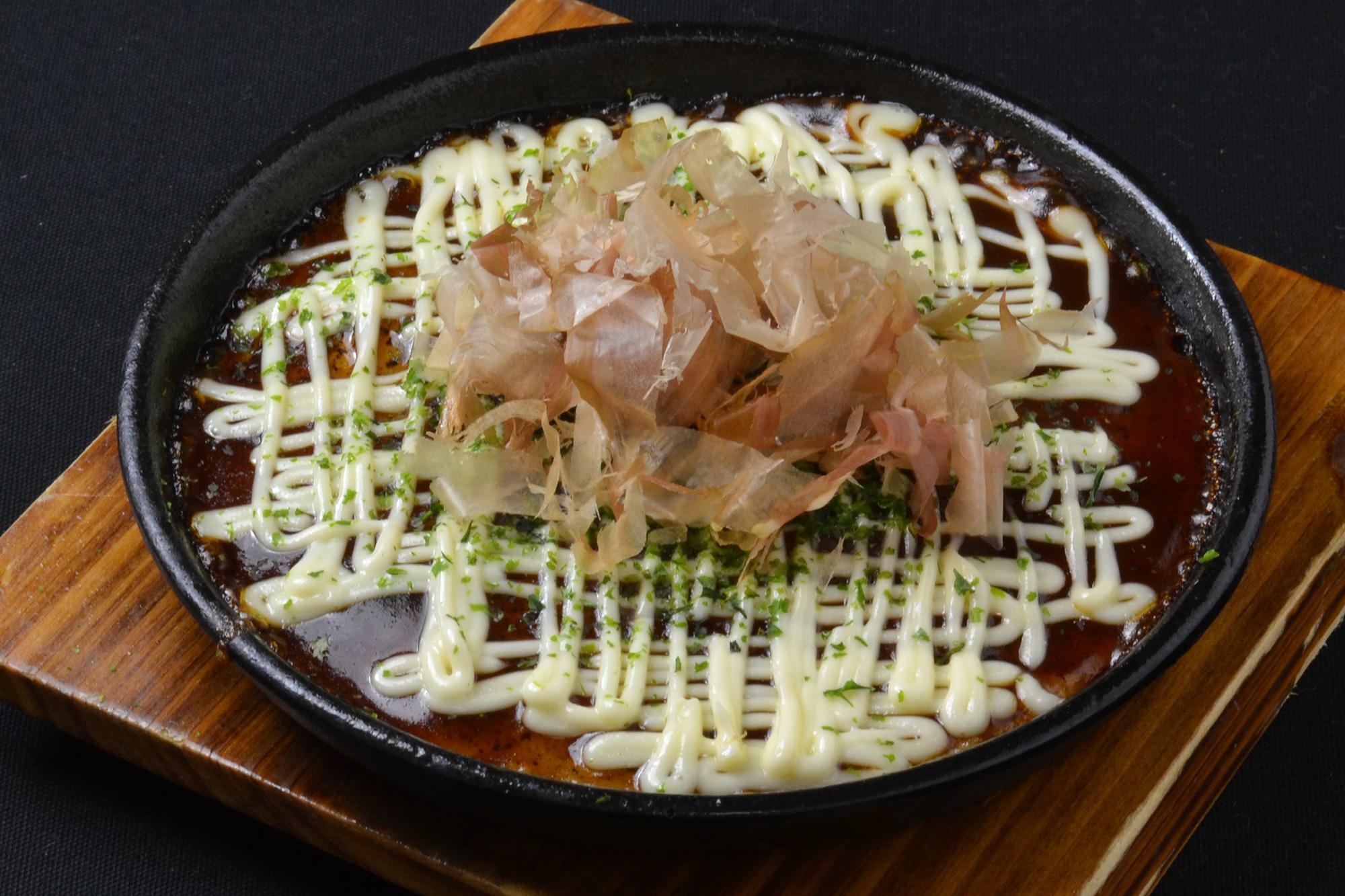 山芋のトロトロ鉄板焼き