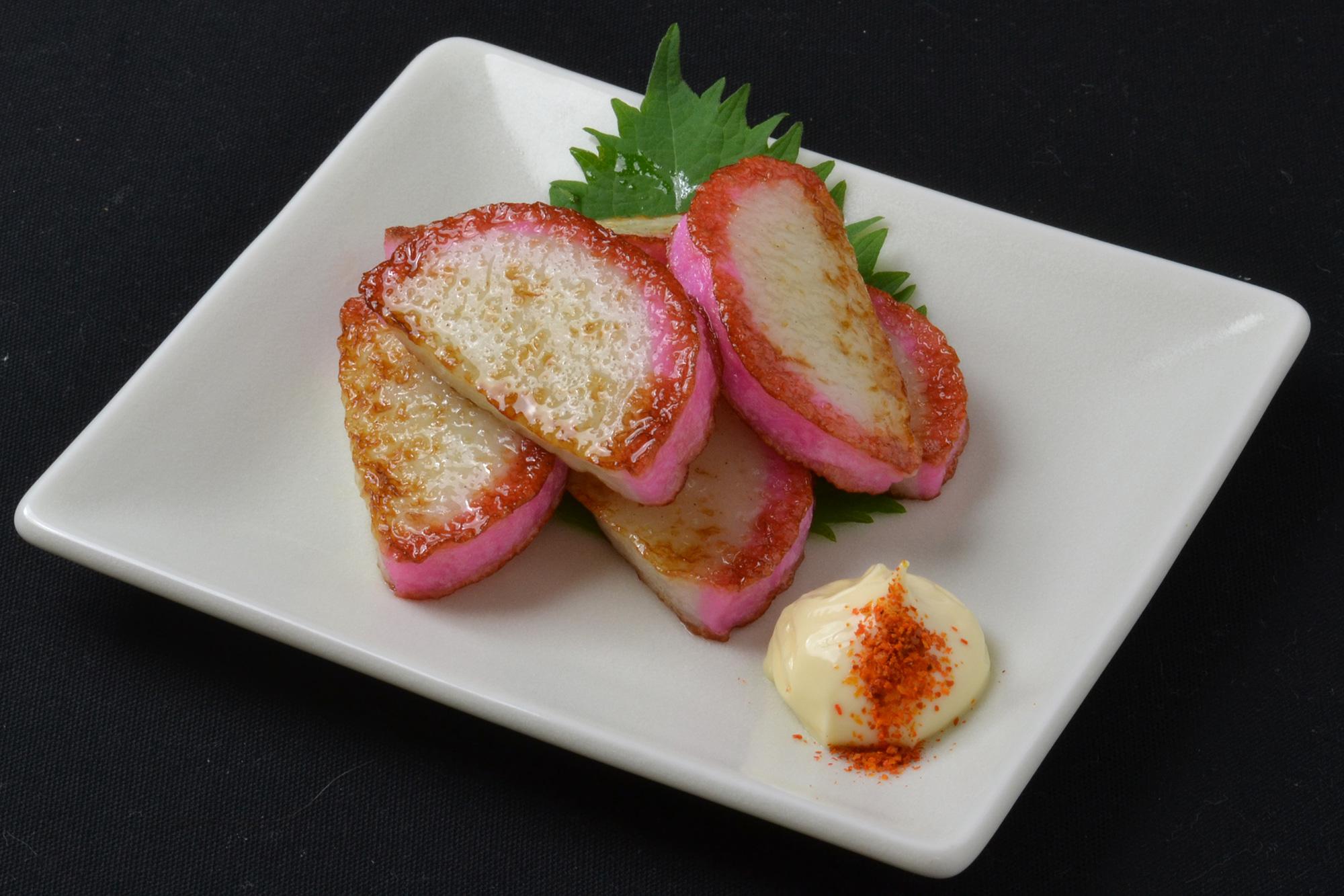 かまぼこバター焼